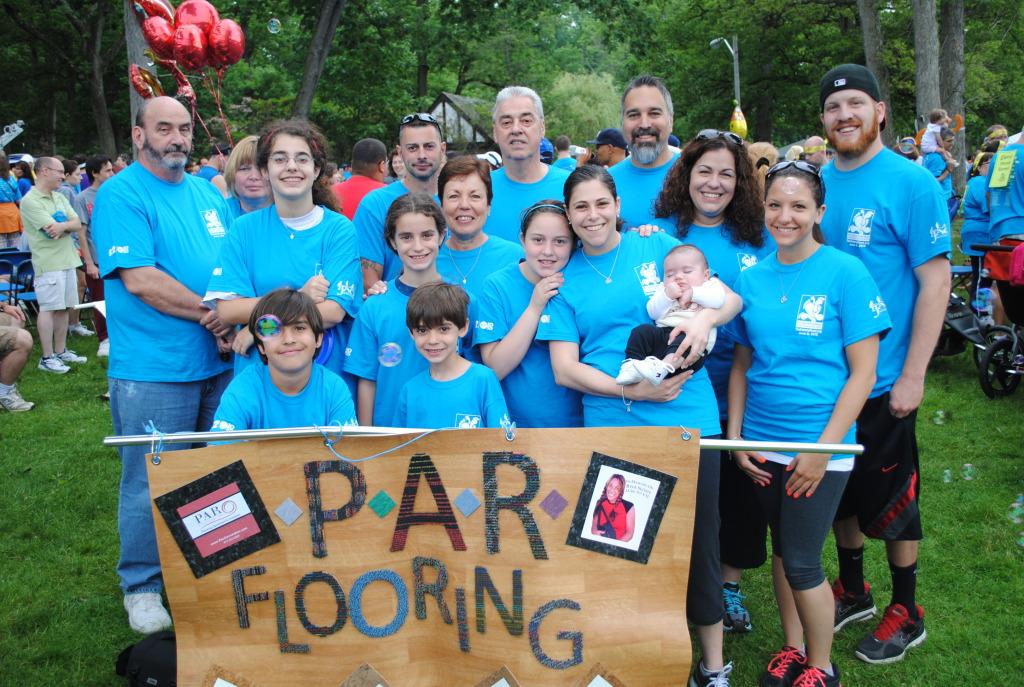 20th Anniversary Walk - Team PAR
