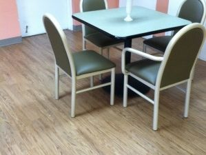 Assisted Living Facility, Dining Room and Kitchen, Princeton, NJ