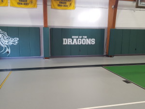 Kent Place Gym Wall Pads