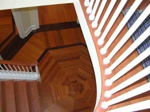 Mendham,-NJ-Residence---Handmade-Foyer-Medallion